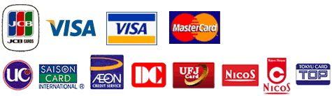 クレジットカード決済が可能です