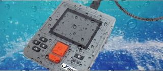 本体もIP55規格の防塵防水仕様