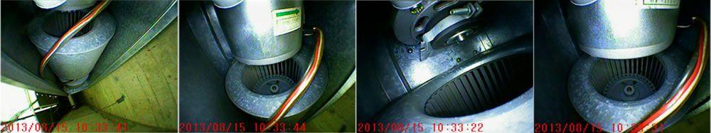 空調装置を撮影した写真データです
