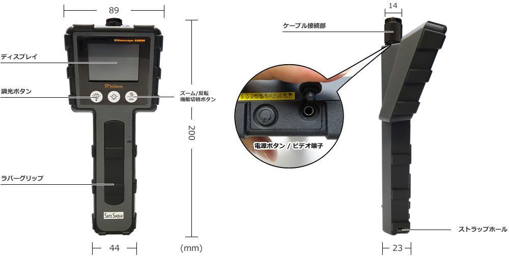 耐油式工業用内視鏡ズームの仕様