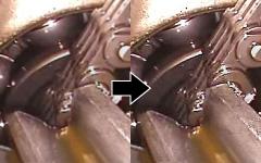 画像のエッジが強調され明瞭に表示する機能