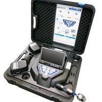 WOHLER 先端可動型配管検査カメラ TA417XG